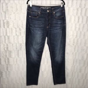 American Eagle Button Fly Hi Rise Jeans Tomgirl